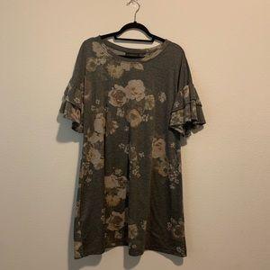 Lane Bryant Floral Dress size 14/16 H6